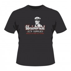 Universal Jeep Supplies Black Mr Berg T-shirt SIZE Large