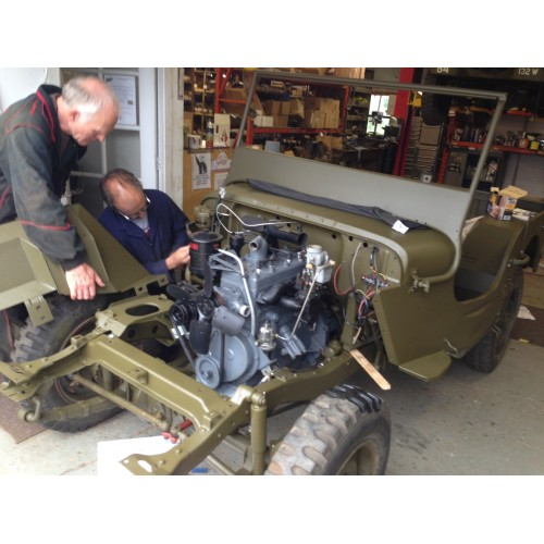 A Restored Ford GPW Or Willys MB 1942