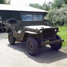 A restored Ford GPW or Willys MB  Jeep - 1942 - 1945 PRE-ORDER ONLY